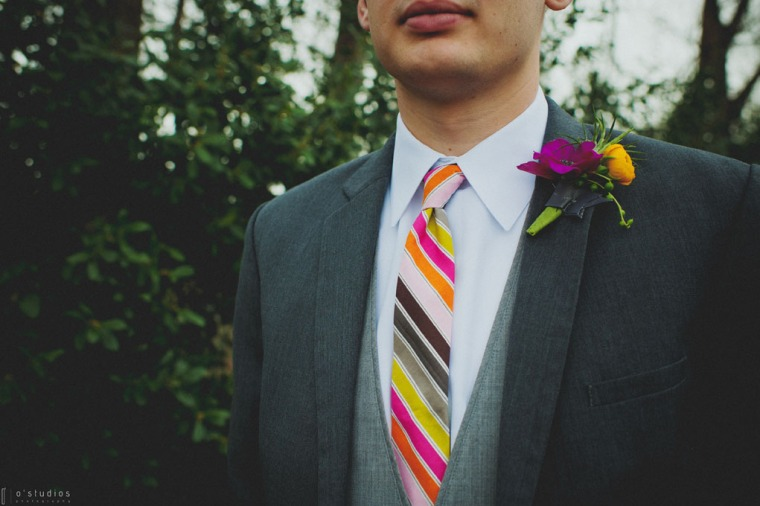Necktie by French Knot Studios // Photo by O'Studios