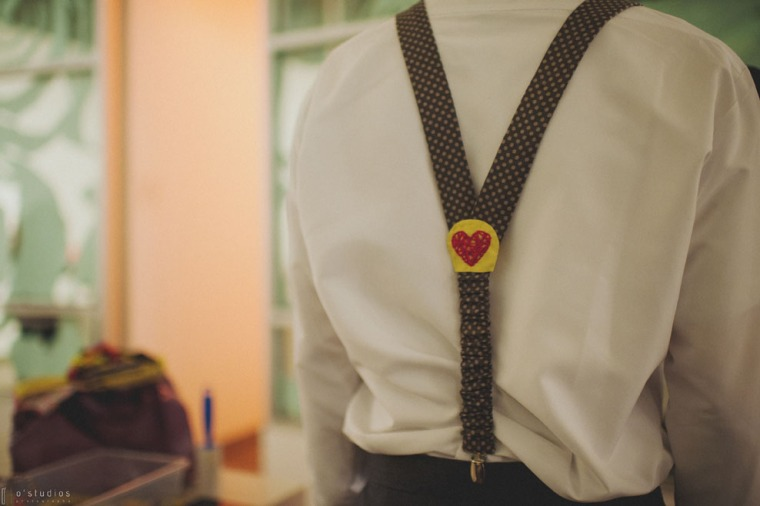Embroidered Heart Suspenders by French Knot Studios // Photo by O'Studios