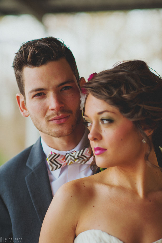 Such a beautiful couple! Bow Tie by French Knot Studios // Photo by O'Studios