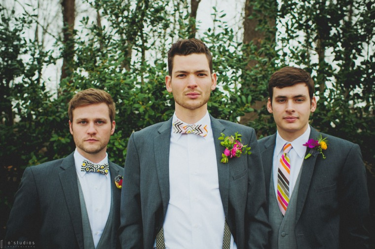 Groom and his men // Accessories by French Knot Studios // Photo by O'Studios