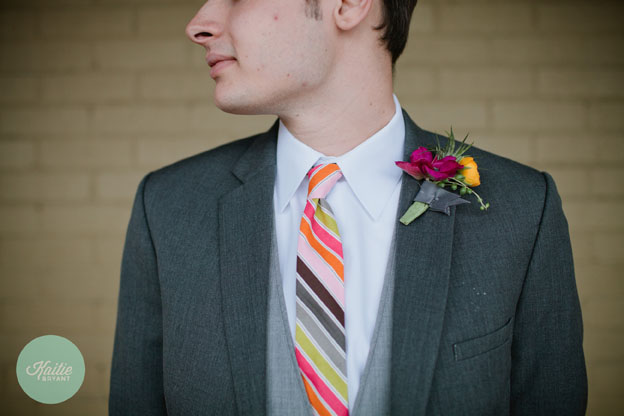 Necktie by French Knot Studios // Photo by Kaitie Bryant