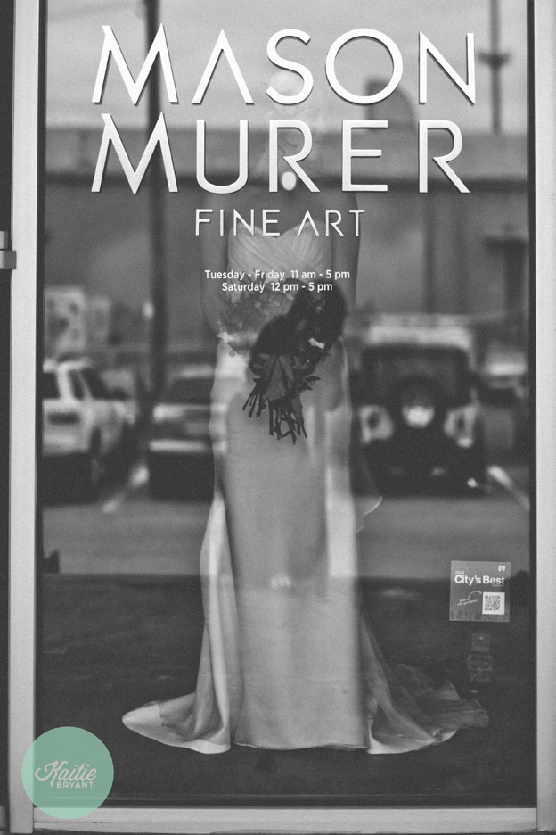 Mason Murer Fine Art Gallery // Photo by Kaitie Bryant