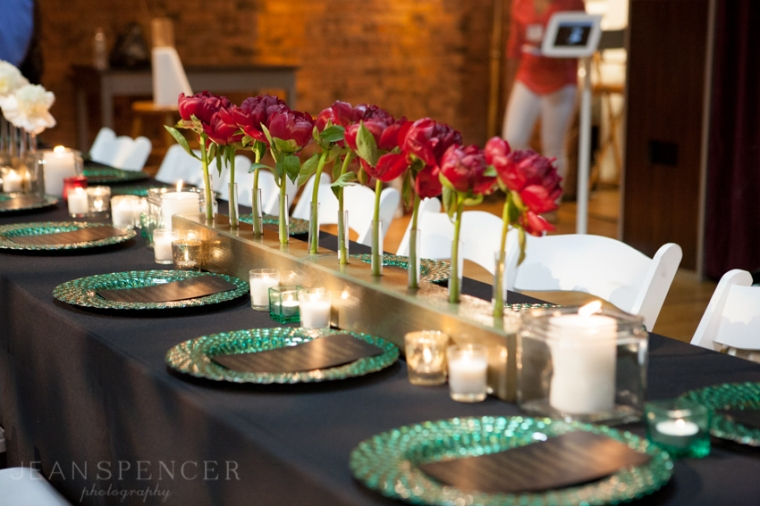 The Not Wedding NY 2013 // Photo by Jean Spencer Photography // Table Decor by Ruffles and Tweed
