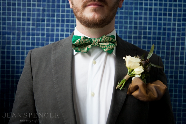 The Not Wedding NY 2013 // Photo by Jean Spencer Photography // Bowtie by French Knot Studios